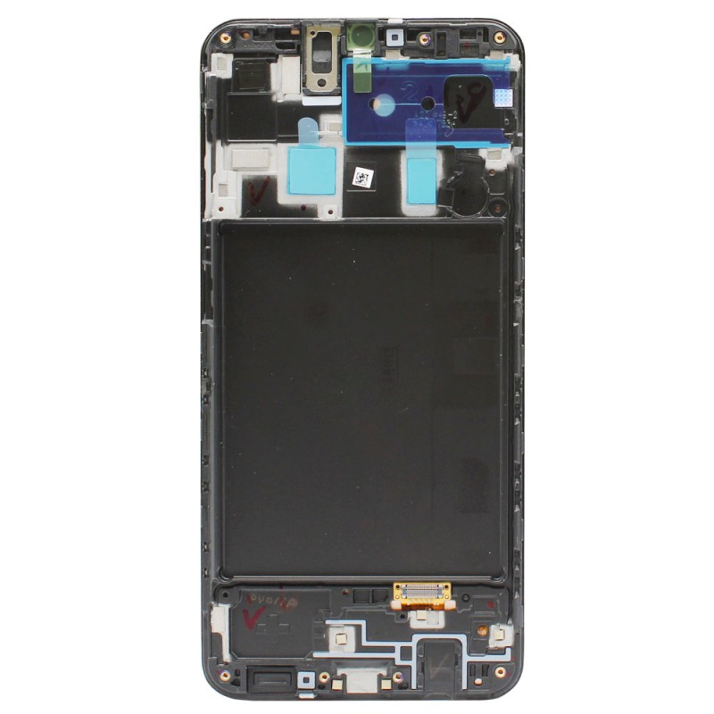 Galaxy A20 OLED Screen Assembly With Frame (Prime Grade) - Black
