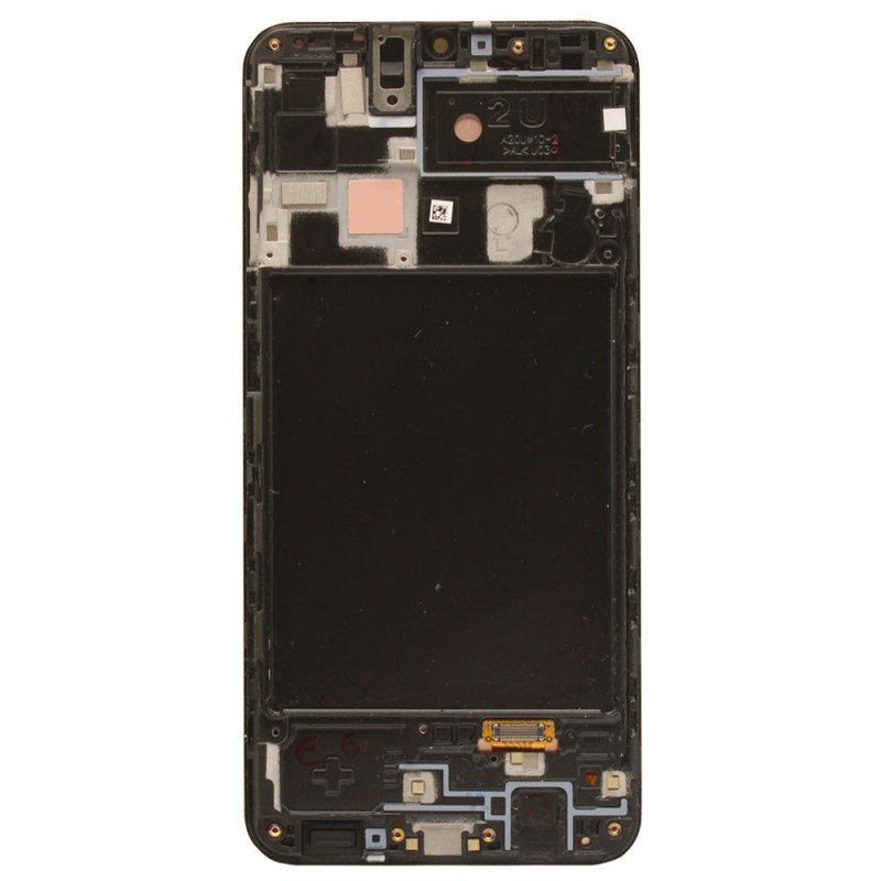 Galaxy A20 OLED Screen Assembly With Frame (OEM Grade) - Black