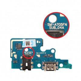 Galaxy A70 Dock Connector Charging Port Flex Cable