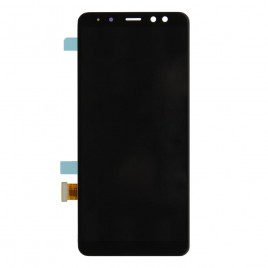 Galaxy A8 LCD Assembly Without Frame - Black