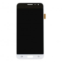 Galaxy J3 LCD Assembly Without Frame - White (Standard Grade)