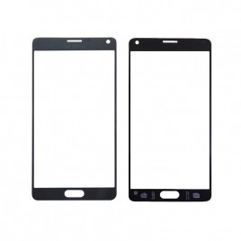 Galaxy Note 4 Front Glass Lens - Black