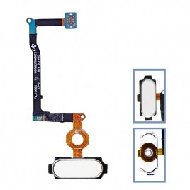 Galaxy Note 5 Home Button Flex Cable - White