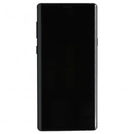 Galaxy Note 9 LCD Assembly With Frame – Midnight Black