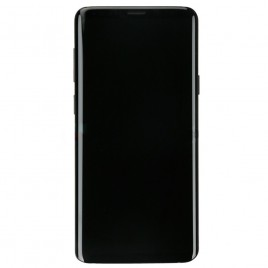 Galaxy S9 Plus LCD Assembly With Frame – Midnight Black Frame