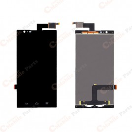 ZTE ZMax LCD Assembly Without Frame - Black