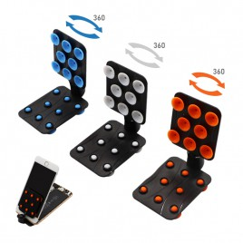 Adjustable Cell Phone LCD Screen Stand Holder - Mini Suction (1 Random Color)