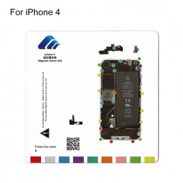 Magnetic Screw Chart Mat for iPhone 4