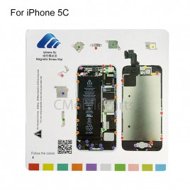 Magnetic Screw Chart Mat for iPhone 5C
