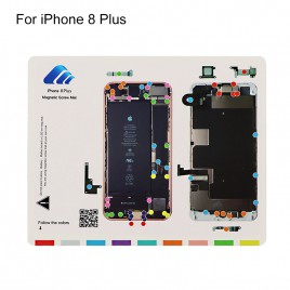 Magnetic Screw Chart Mat for iPhone 8 Plus