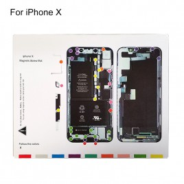 Magnetic Screw Chart Mat for iPhone X