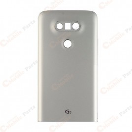 LG G5 Back Cover Glass - Silver