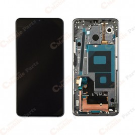 LG G7 LCD Screen Assembly With Frame - Aurora Black