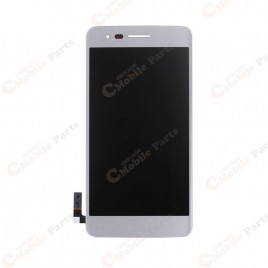LG Aristo LCD Screen Assembly Without Frame - Silver