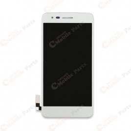 LG Aristo LCD Screen Assembly Without Frame - White