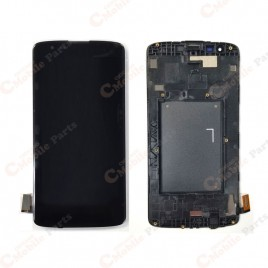 LG K8 (2016) / Phoenix 2 LCD Screen Assembly With Frame - Black
