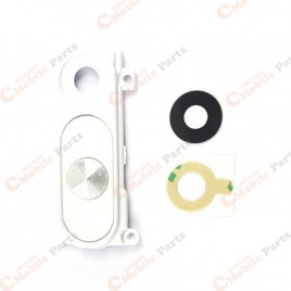 Rear Camera White Frame for LG G3