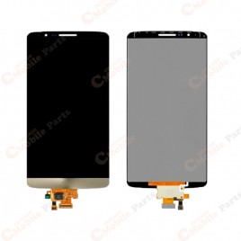 LG G3 LCD Screen Assembly Without Frame - Gold