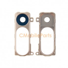 LG G3 Back Camera Lens Cover With Bezel - Gold