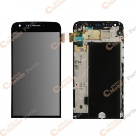LG G5 LCD Screen Assembly With Frame - Black