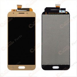 Galaxy J3 Prime / Emerge LCD Assembly Without Frame - Gold
