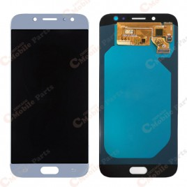 Galaxy J7 Pro LCD Assembly Without Frame (Premium) - Blue