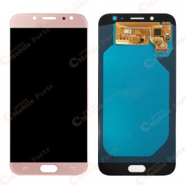 Galaxy J7 Pro LCD Assembly Without Frame (Premium) - Pink