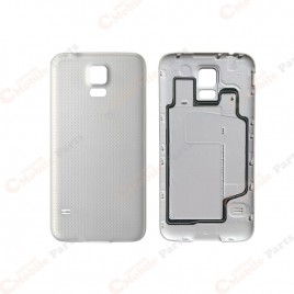 Galaxy S5 Back Cover Glass - White