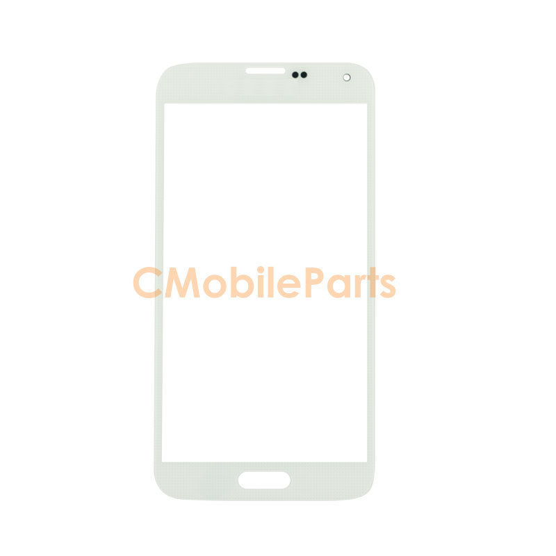 Galaxy S5 Front Glass Lens - White