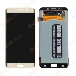 Galaxy S6 Edge Plus LCD Assembly Without Frame – Gold Platinum