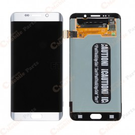 Galaxy S6 Edge Plus LCD Assembly Without Frame – White Pearl