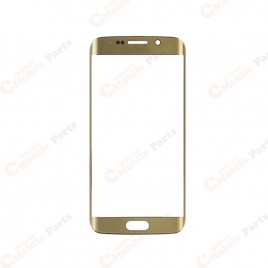 Galaxy S6 Edge Front Glass Lens - Gold Platinum