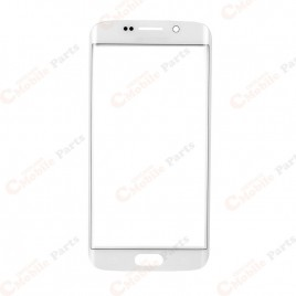 Galaxy S6 Edge Plus Front Glass Lens - White Pearl