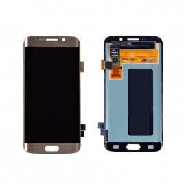 Galaxy S6 Edge LCD Assembly Without Frame – Gold Platinum
