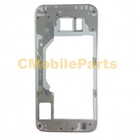 Galaxy S6 Mid Frame Without Small Parts - Gold