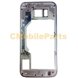 Galaxy S6 Mid Frame Without Small Parts - Blue