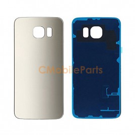 Galaxy S6 Back Cover Glass - Gold Platinum