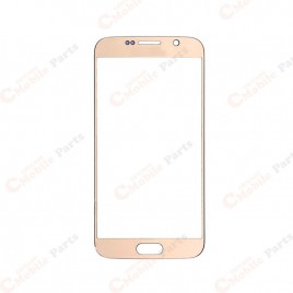 Galaxy S6 Front Glass Lens - Gold Platinum