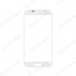 Galaxy S6 Front Glass Lens - White Pearl