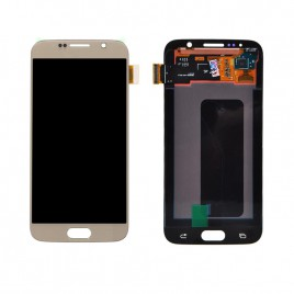 Galaxy S6 LCD Assembly Without Frame – Gold Platinum