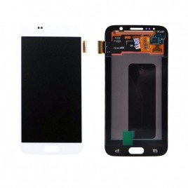 Galaxy S6 LCD Assembly Without Frame – White Pearl