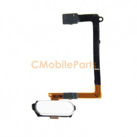 Galaxy S6 Home Button Flex Cable - White