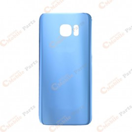 Galaxy S7 Edge Back Cover Glass - Blue Coral