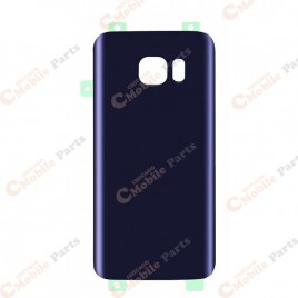 Galaxy S7 Edge Back Cover Glass - Black Onyx
