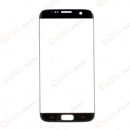 Galaxy S7 Edge Front Glass Lens - Black Onyx