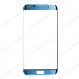 Galaxy S7 Edge Front Glass Lens - Blue Coral