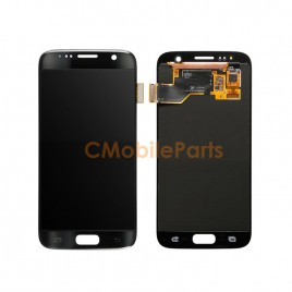 Galaxy S7 LCD Assembly Without Frame – Black Onyx