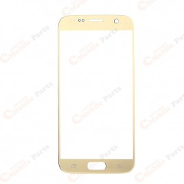 Galaxy S7 Front Glass Lens - Gold Platinum