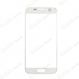 Galaxy S7 Front Glass Lens - White Pearl