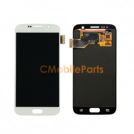 Galaxy S7 LCD Assembly Without Frame – White Pearl